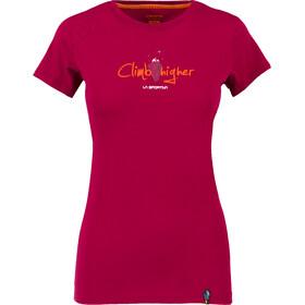 La Sportiva Asteroid Shortsleeve Shirt Women red